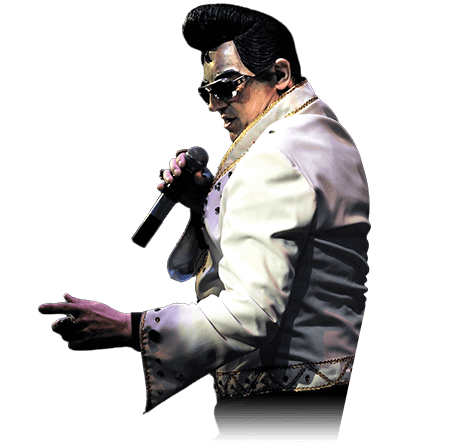 Mr. Tomm als Elvis